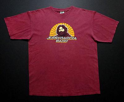 Grateful Dead Shirt T Shirt Jerry Garcia Band After Midnight 1980 Tour 2004 XL