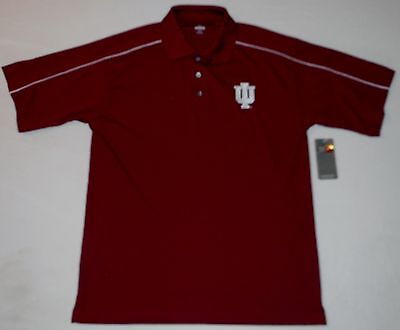 INDIANA HOOSIERS KNIGHTS APPAREL GOLF COACHES POLO SHIRT MEN
