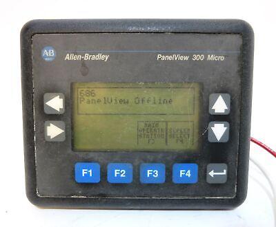 Allen Bradley 2711-m3a18l1 Panelview 300 Micro Ser A Rev C Frn 4.41 2711m3a18l1