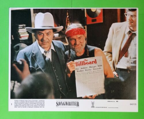 "Willie Nelson as Doc Jenkins in the movie ""SONGWRITER""  - movie photo still"