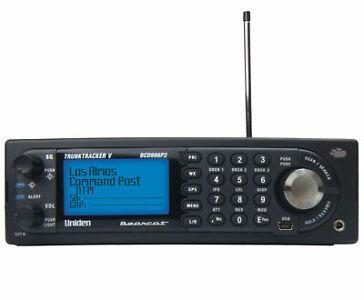 police scanner digital base mobile black gps