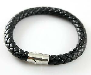 Mens Pandora Leather Bracelet