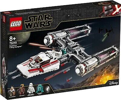 LEGO Star Wars: The Rise of Skywalker Resistance Y-Wing Starfighter 75249 Buildi