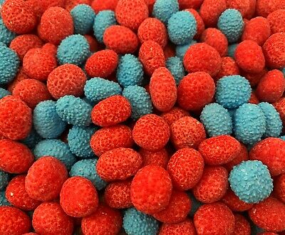 Nerds Chewy Sour Jelly Beans Candy, Raspberry Strawberry Flavors Bulk - 3 Lbs