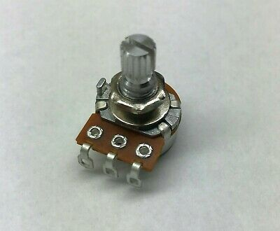 5k Center Detent Linear Taper Potentiometer - 16mm With With Solder Lugs