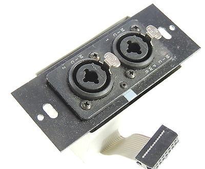 Crestron QM-WMIC Microphone Input Module for 2-gang model QuickMedia Wall Plates