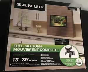 SANUS Full Motion TV Mount