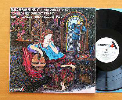 SDD 188 Rachmaninov Piano Concerto no. 1 Katin Boult (= SXL 2034) Decca EX/EX