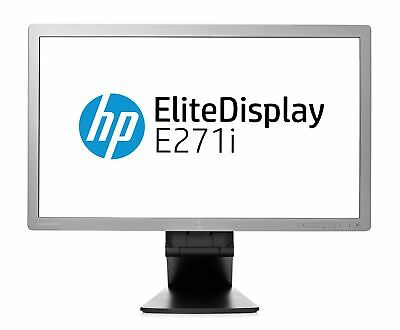 "HP ELITEDISPLAY E271i 27"" FULL HD WIDESCREEN COMPUTER IPS MONITOR USB DP DVI VGA"