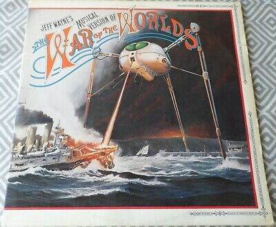 Jeff Wayne's War Of The Worlds Album With Booklet