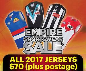 2017 AFL GUERNSEYS ALL TEAMS & SIZES BRAND NEW AUTHENTIC W/ TAGS Melbourne CBD Melbourne City Preview