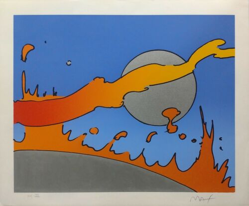"""Peter Max """"close To The Sun"""" 1978 