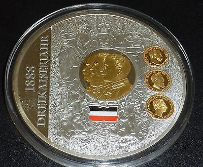 Dreikaiserjahr 1888 Kaiser Wilhelm I. II. Friedrich III. Preu�en Eisernes Kreuz