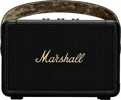 Marshall - Kilburn II Portable Bluetooth Speaker - Black and Brass