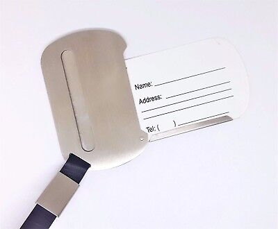 (Stainless Steel Travel Luggage Tags Luggage Accessories)