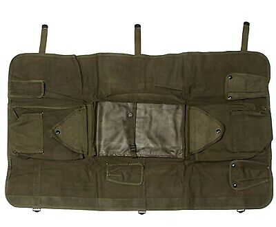 US ARMY CW-206/GR Radio Antenna and accessory canvas Bag Olive Drab for sale  Shipping to India