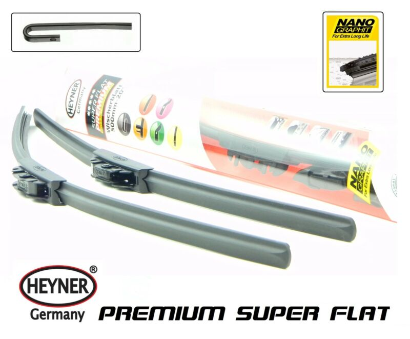 LEXUS LS 2006-on HEYNER SUPER FLAT windscreen WIPER BLADES 24