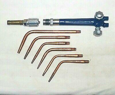 WeldingCity Acetylene Welding Brazing Tip 23-A-90 #5 w// E-43 MixerUS Seller