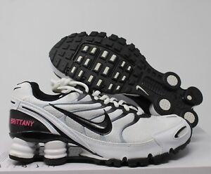 Nike Women s Shox Turbo+ VI iD White-Black SZ 6.5  326907-992  e2898c9f1
