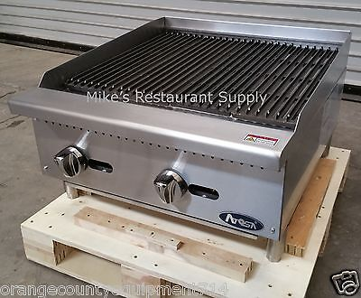 New 24 Radiant Charbroiler Grill Atosa Atrc-24 2540 Commercial Restaurant Nsf