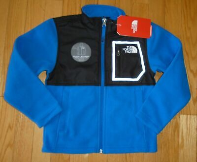 The North Face Boys Fleece Jacket Glacier Track Reflective Logo XXS 5 5T NWT North Face Glacier Track