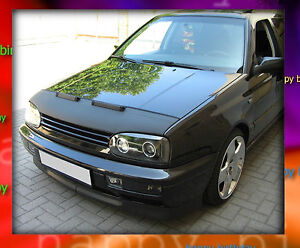 volkswagen vw golf 3 bra de capot prot ge car protection ebay. Black Bedroom Furniture Sets. Home Design Ideas