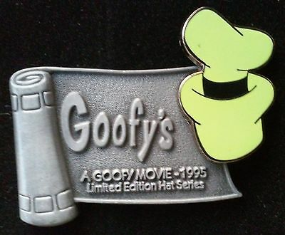 2001 WDW A GOOFY MOVIE HAT SERIES LE DISNEY PIN, PEWTER BANNER