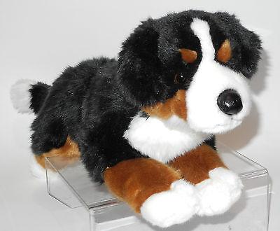 Neuware wunderschöner liegender Hund Berner Sennen ca. 40cm lang