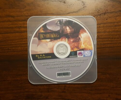 The DEMON WARS Series - 10 MP3 Audiobook Collection - by R.A. Salvatore