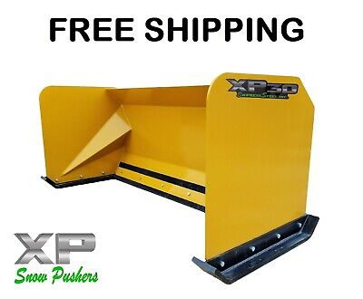 6 Xp30 Snow Pusher Boxes Skid Steer Backhoe Loader Bobcat Free Shipping