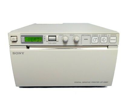 Sony Upd 897 Ultrasound Printer Tested By Bio-medical Engineers Wwarranty