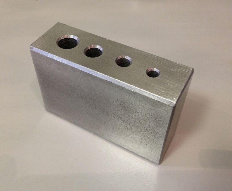 Clock Repair Tool Steel Staking block