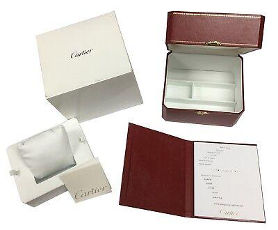 Cartier Classic Red Watch Box + Books + Cushion COWA0050