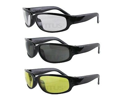 Titus G115 Bold Classic Safety Shooting Motorcycle Glasses Eye Protection Z87