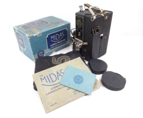 Midas 9.5mm Cine Film Combined Camera-Projector for Parts or Repair