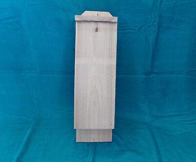 BAT HOUSE Solid Cedar 1 Chamber Custom Handcrafted Bug & Pest Control NEW
