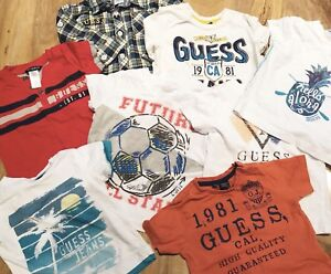 8 Baby Boy 12 Month Guess Shirts