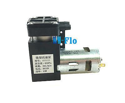 Micro Air Vacuum Pump 12v 24lm 23w Air Compressor Electric Pump