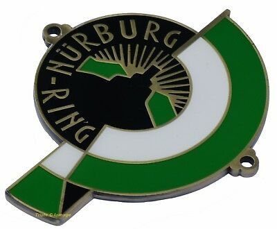Nurburgring German car grille badge Nurburg-ring