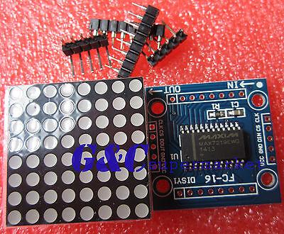 MAX7219 dot matrix module Arduino microcontroller module DIY KIT M67