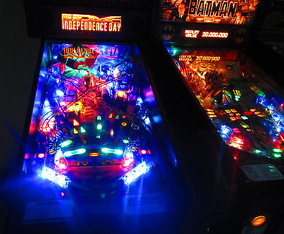 INDEPENDENCE DAY Complete LED Lighting Kit custom SUPER BRIGHT PINBALL LED KIT