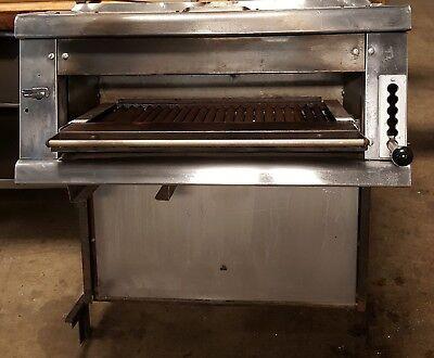 Vulcan 36 Steakhouse Broiler High-temp Gas Salamander W Stove Mount Back