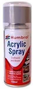 Humbrol Spray Varnish | Acrylic Varnish Matt | Carftwork and Model |150ml |