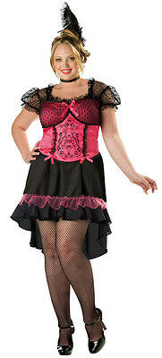 InCharacter Womens Saloon Gal Western Bar Maid Plus Size Adult Costume Size 2X (Bar Maid Kostüm Plus Size)