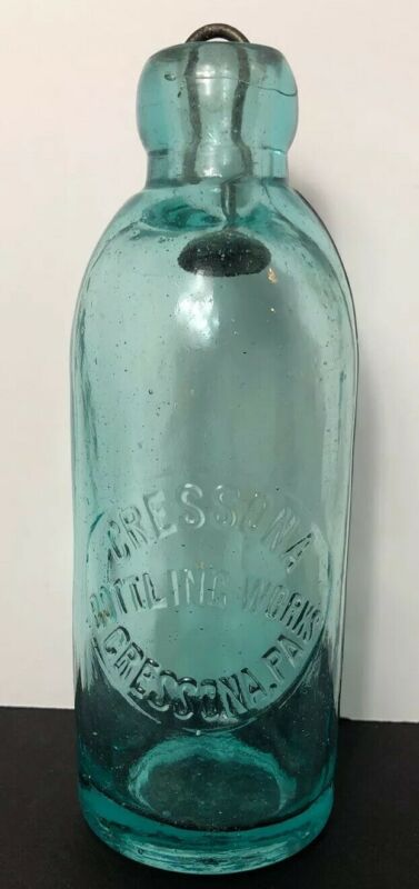 Antique Cressona Bottling Works Blob Top bottle Cressona, PA