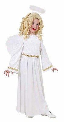 Kostüm Engel 1tlg. Engelskostüm Kleid Weihnachten Christkind Gr 128 140 152 164