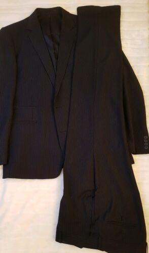 Herrenanzug Anzug Bruno Banani Gr.106 schwarz nur 1 mal getragen Zweireiher