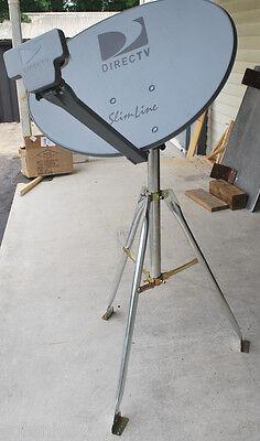 DIRECTV 3LNB SLIMLINE DISH KAKU SL3 4 OUTPUT HD RV 3