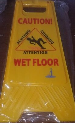 Janico Standard Wet Floor Sign Item Number 1070 Free Shipping