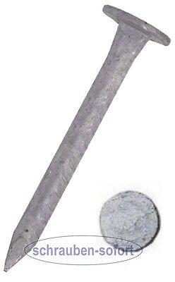 500 Stck Pappnägel  2,5 x 35 mm, Pappstifte  verzinkt